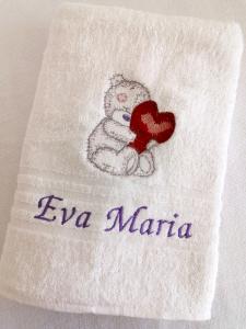Trusou botez personalizat complet Bear in Love [4]