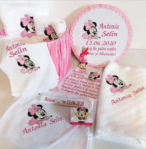 Trusou botez personalizat complet Minnie Mouse [2]