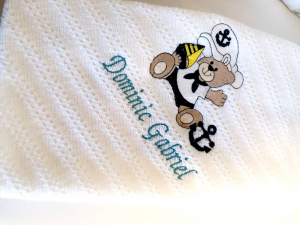 Trusou botez personalizat complet Teddy Bear Matelot [9]