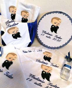 Trusou botez personalizat complet Teddy Bear Matelot [6]