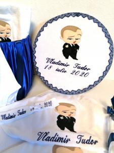 Trusou botez personalizat complet Teddy Bear Matelot [3]