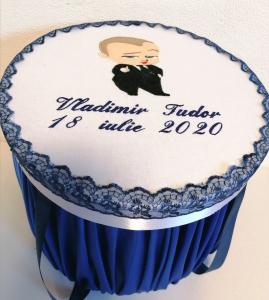 Trusou botez personalizat complet Teddy Bear Matelot [7]