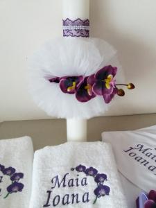 Trusou botez personalizat Orhidee [3]