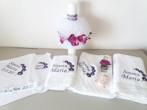 Trusou botez personalizat Orhidee [2]