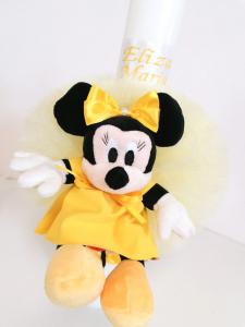 Trusou botez personalizat Yellow Minnie [4]