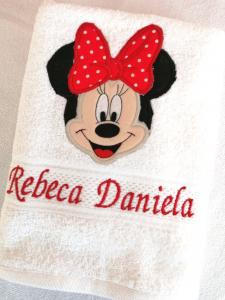 Trusou botez personalizat complet Minnie Mouse [5]
