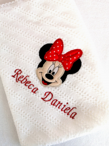 Trusou botez personalizat 8 piese Minnie Mouse [2]