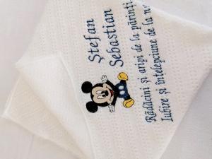 Trusou botez personalizat 9 piese Mickey Mouse [9]