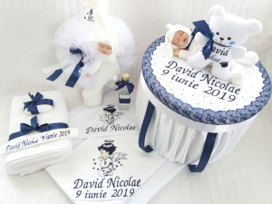 Trusou botez personalizat Sleepy Babies [1]
