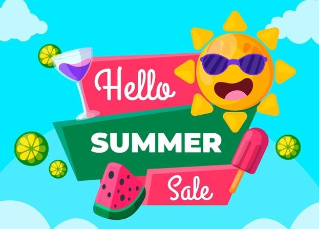 HELLO SUMMER SALE 2021