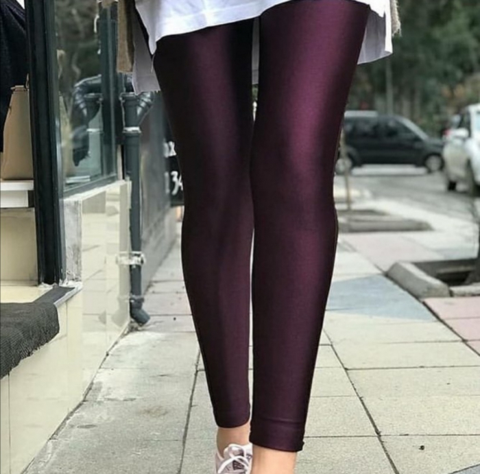 Colanti Lycra Brenda Dark Purple 1