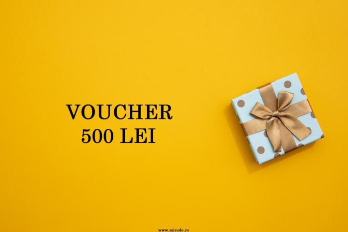 Voucher 500 lei 0