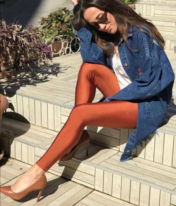 Colanti Lycra Extrafin Jessica Orange 3