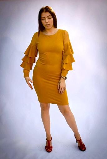 Rochie Elisa Yellow 1