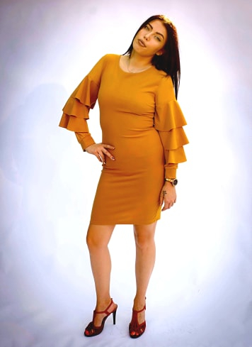 Rochie Elisa Yellow 2