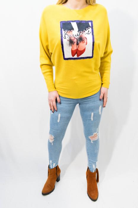 Pulover Luana Yellow 1