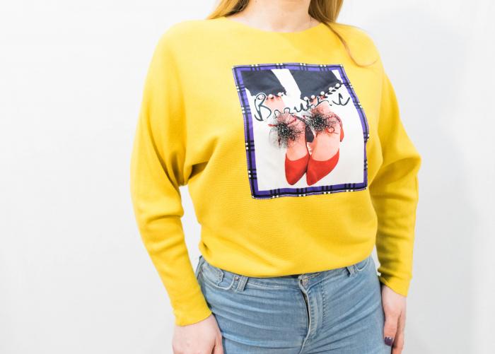 Pulover Luana Yellow 2