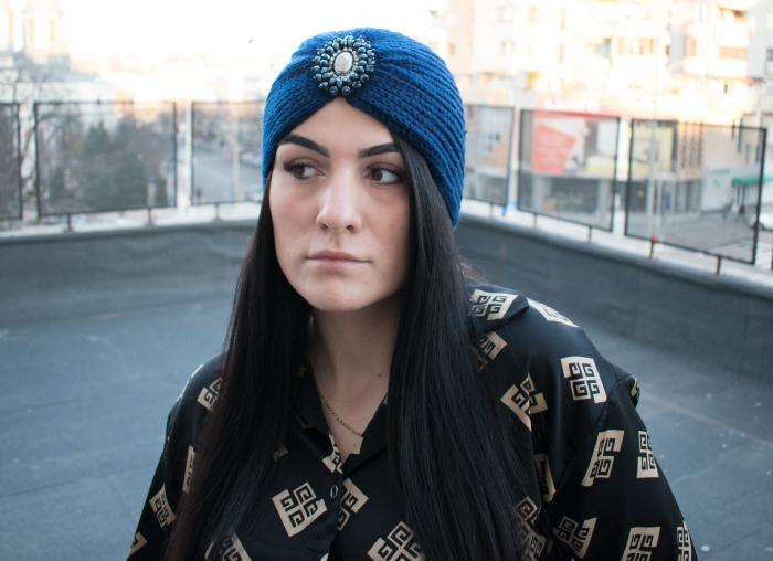 Turban Sheila Blue 0