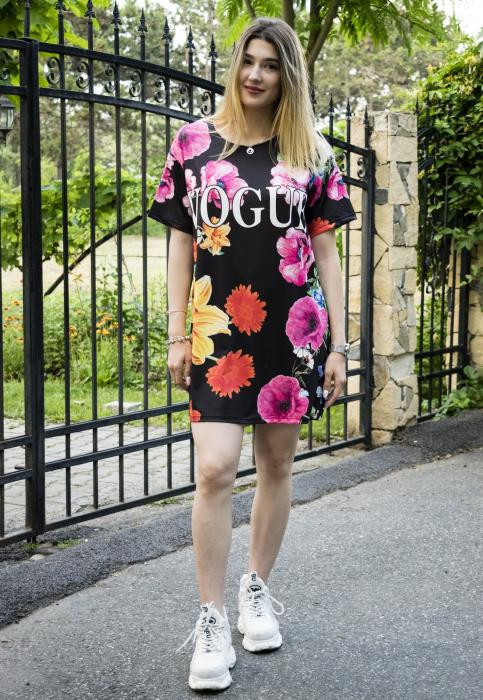 Rochie Vogue Flowers 0