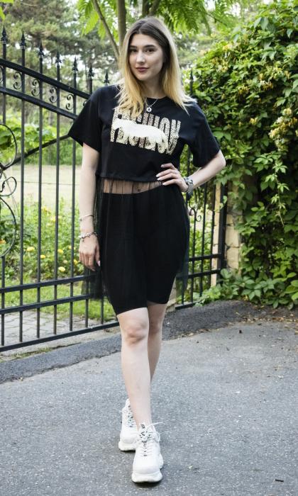 Tricou Celia Black 1