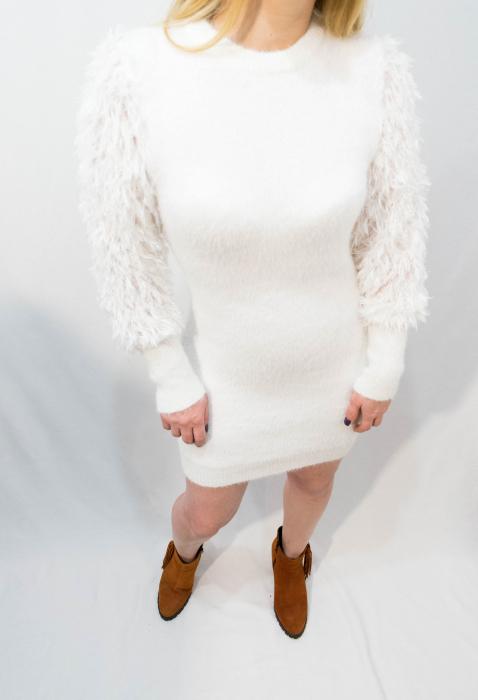 Rochie White Snow 3