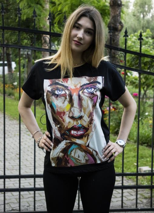 Tricou Liana Black 0