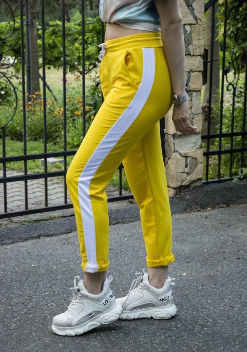 Pantaloni Sport Kristie Yellow 0