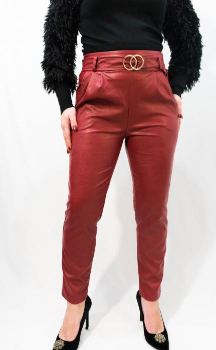 Pantaloni Eco Piele Jessica 1