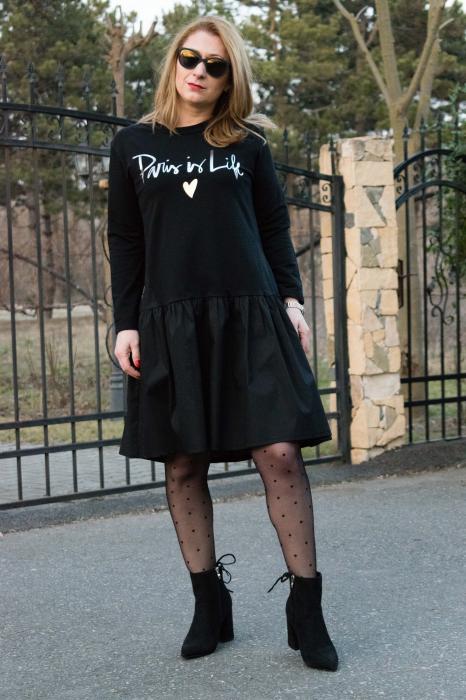 Rochie Paris Black 1