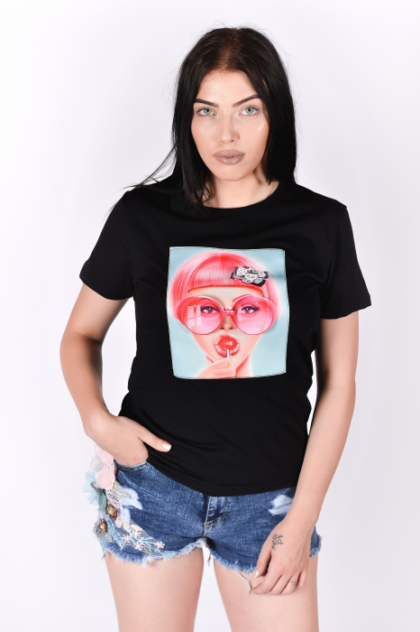 Tricou 3D Sweet Lollipop 0