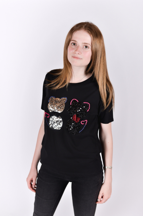 Tricou Sparkle Cats 1