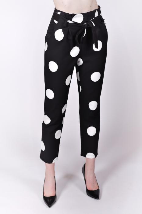 Pantaloni White Dots 0