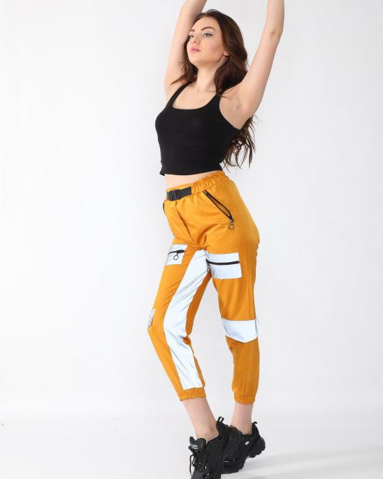Pantaloni Georgia Yellow 0