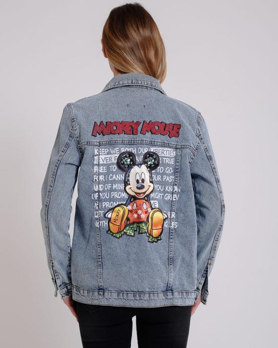 Jacheta Denim Mickey [0]