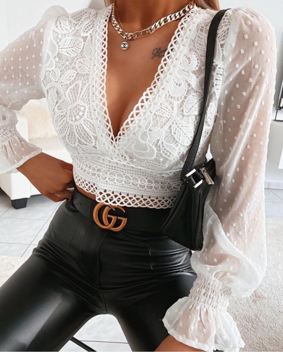 Bluza Viviane White 0