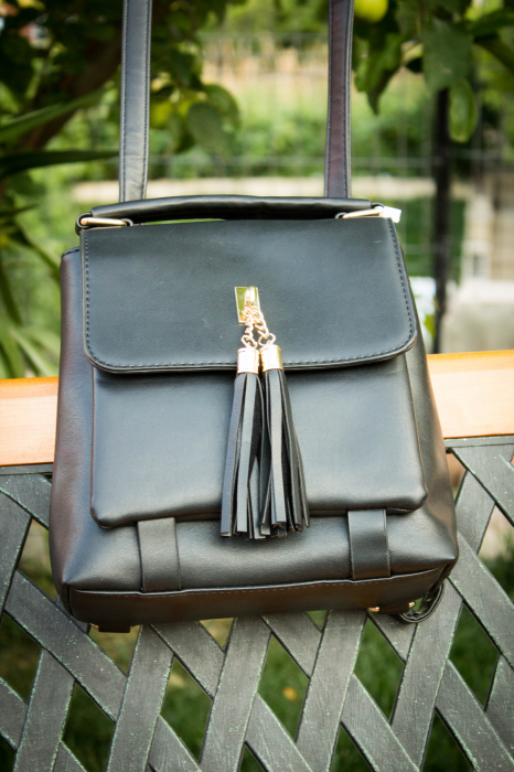 Rucsac Evelyn Black 2