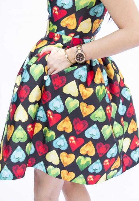 Rochie Brianna Hearts [3]