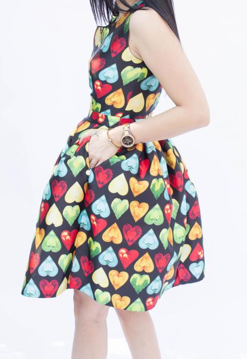 Rochie Brianna Hearts [4]