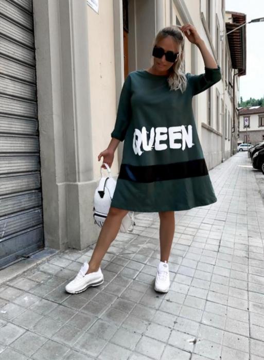 Rochie Carla Green 0