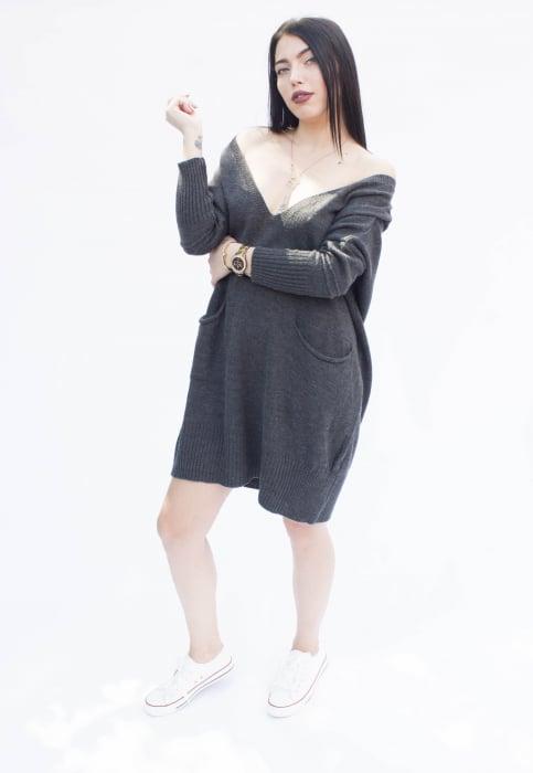 Rochie Wanda Gray [3]