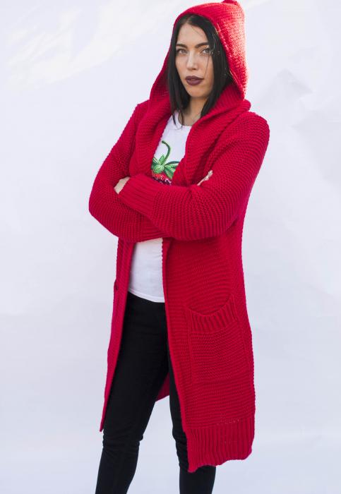 Cardigan Yvona Red 0