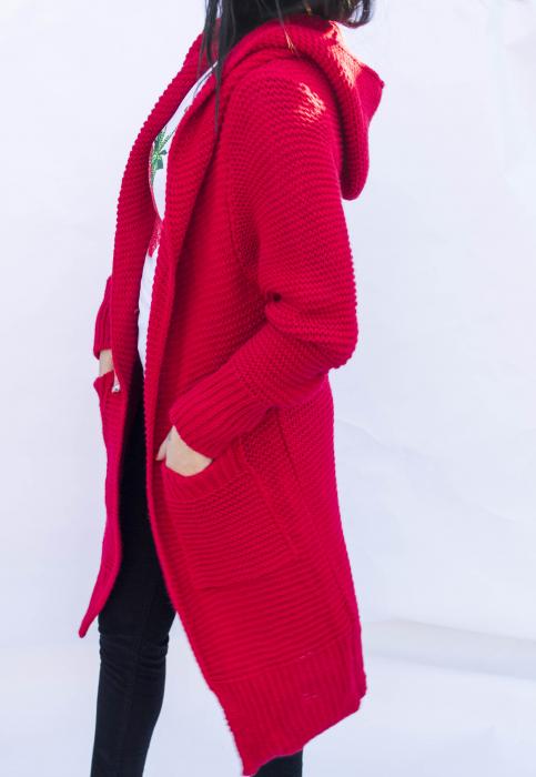 Cardigan Yvona Red 4