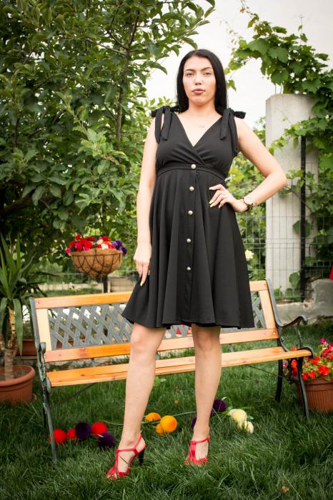 Rochie Emily Black 2