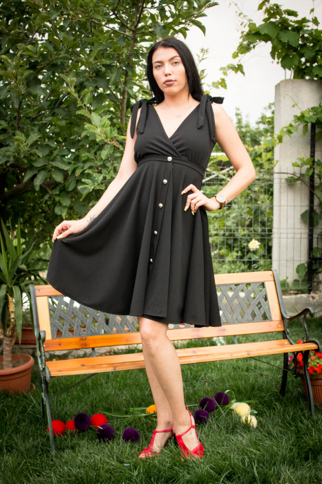 Rochie Emily Black 3