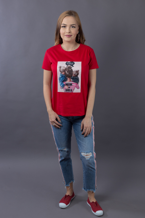 Tricou 3D Mom of Girls 2
