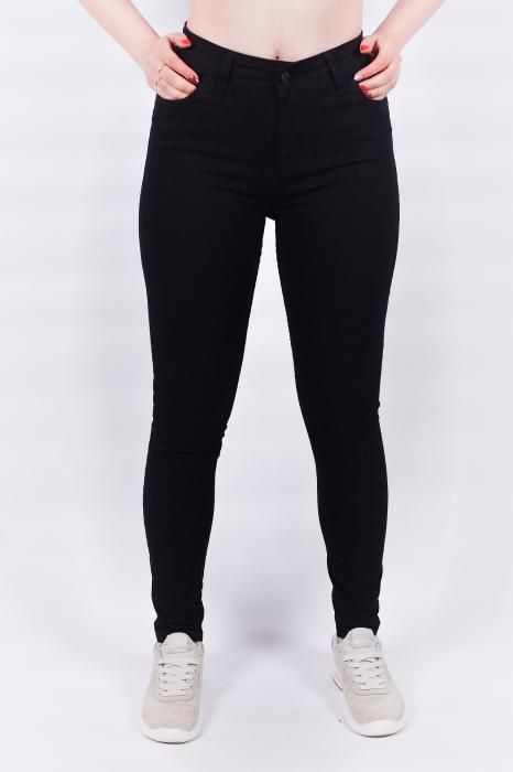 Pantaloni negri Super Skinny 0