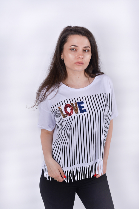 Tricou Love Stripes 3