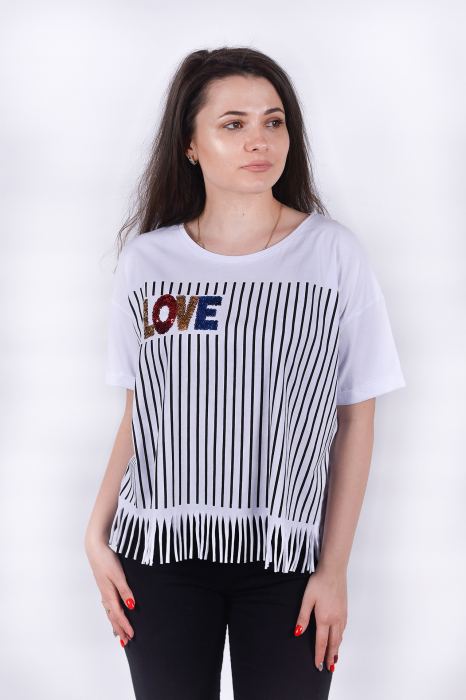 Tricou Love Stripes 2