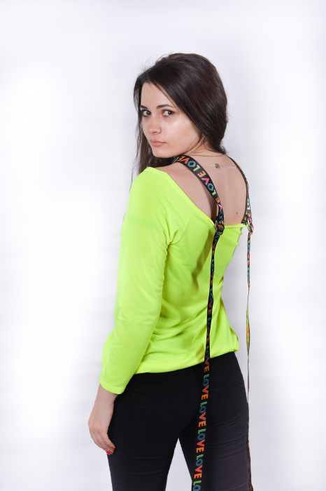 Bluza Green Love 1