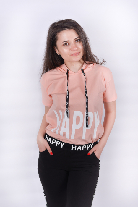 Tricou Happy Pink 1